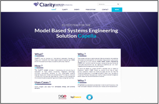 Clarity website opening