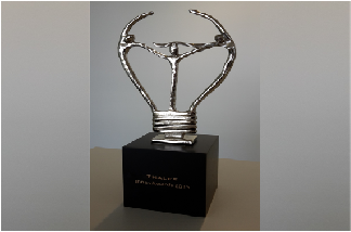 "Capella has won the Thales Innov Awards 2015 ""Open Innovation"""