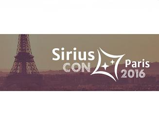 SIRIUSCON PARIS 2016