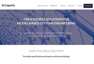 New Capella website